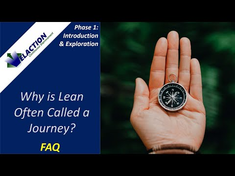 Why is Lean often called a Journey? (FAQ)