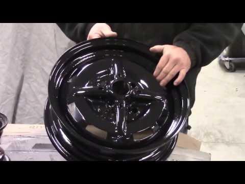 1978 VW Super Beetle Restoration Update Epoxied Steel Wheels, lastchanceautorestore com