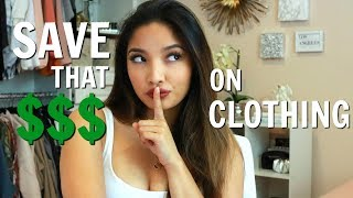HOW TO SAVE MONEY ON CLOTHING 💰🤑| SHOPPING HACKS