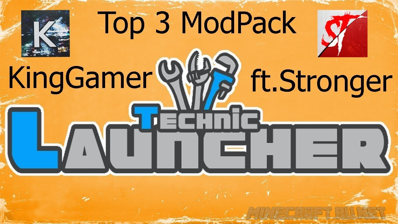 $Top 3 ModPacks Technic Launcher 2018$
