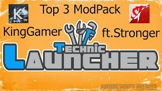 $Top 3 ModPacks Technic Launcher 2018$