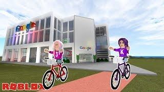 BUILDING GOOGLE HEADQUARTERS! / Roblox: Google Factory Tycoon