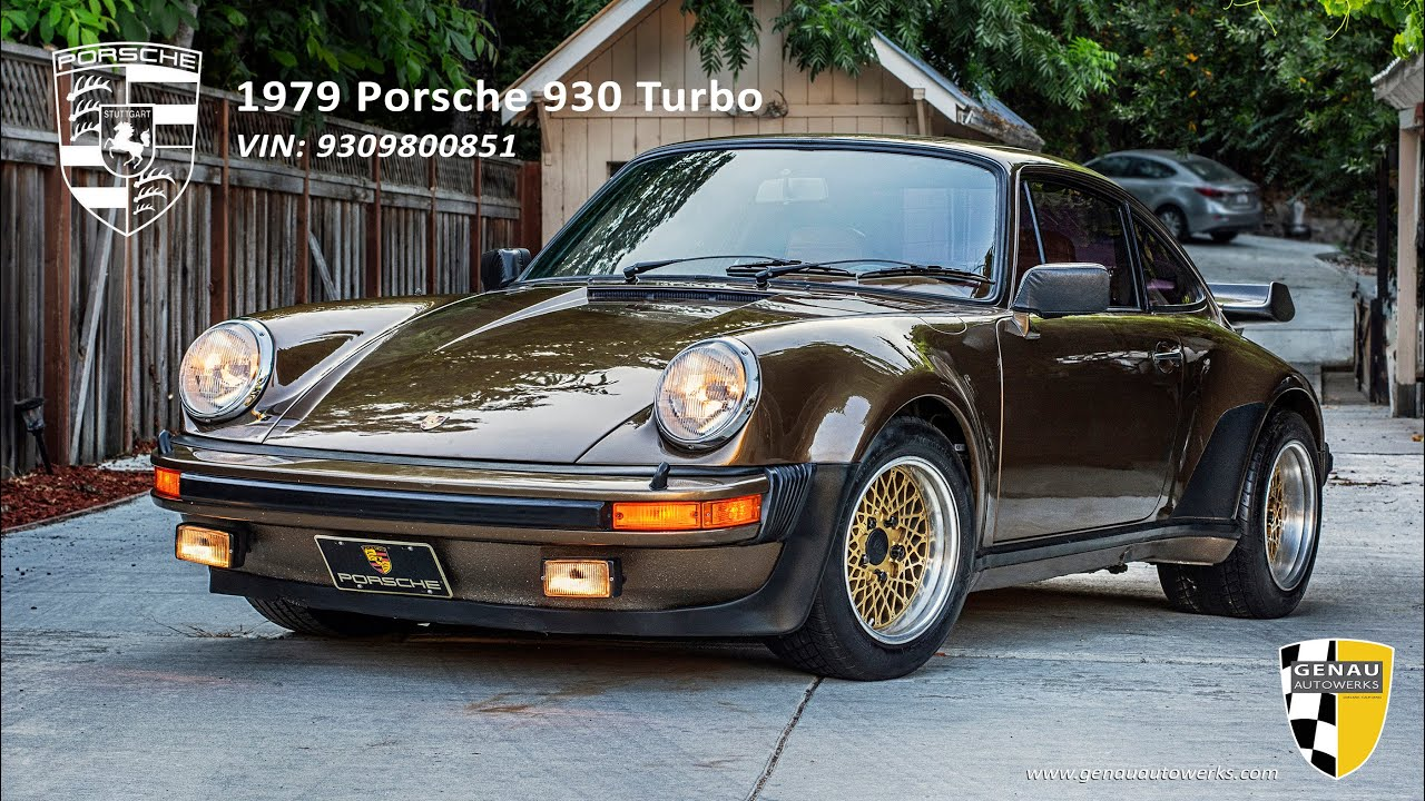 1979 Porsche 930 Turbo - On Hold