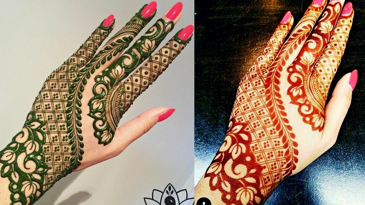 Modern Henna Designs: Latest Modern Mehndi Design 2018