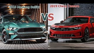 2019 Chevrolet Camaro vs 2019 Ford Mustang Bullitt [Lastest News]