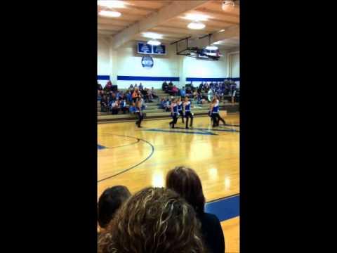 West Franklin High School Sapphires Dance Team