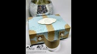 Gorgeous Suitcase Style Gift Box Using Wood Words