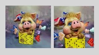 Запрошую всіх на майстер-клас зі створення ляльки ''свинка-сюрприз''!