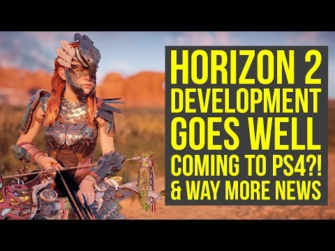Horizon Zero Dawn 2 Development MOVES TO NEXT PHASE, Could come to PS4 Instead of PS5 & More News! thumbnail