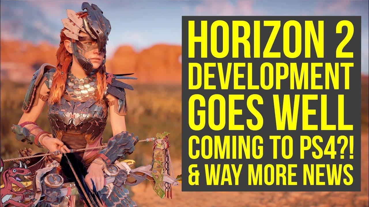 Horizon Zero Dawn 2 Development Moves To Next Phase Coming To Ps4 More Horizon Zero Dawn Dlc Youtube