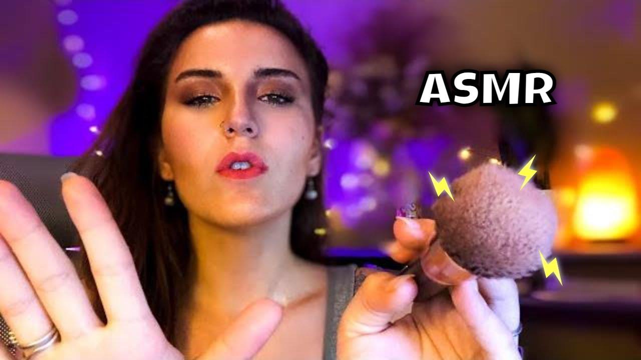 Fast and Aggressive ASMR Makeup