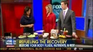Keren Gilbert on Fox News talking about Hangover Remedies 7:50am Segment