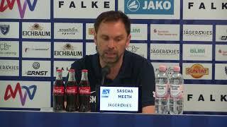 Pressekonferenz SV Waldhof - TSV Schott Mainz