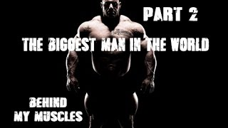 IFBB Pro Martin Kjellstrom. The biggest man in the world part 2.