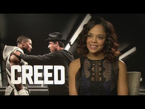 CREED: Tessa Thompson talks chemistry with Michael B. Jordan