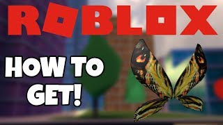 [PROMOCODE] How to get MOTHRA WINGS - Roblox