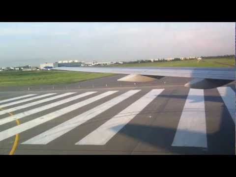 Uzbekistan airways B757 Landing to LED