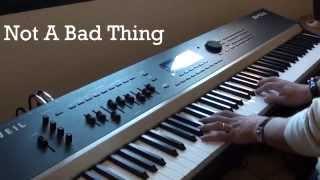 Justin Timberlake - Not A Bad Thing - Piano Cover Version