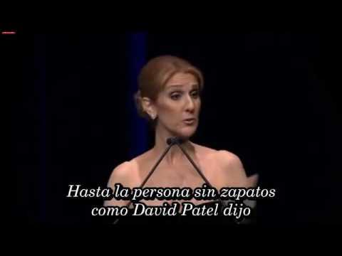 Celine Dion's Speech at René Angélil's Celebration of Life Subtitulado en Español
