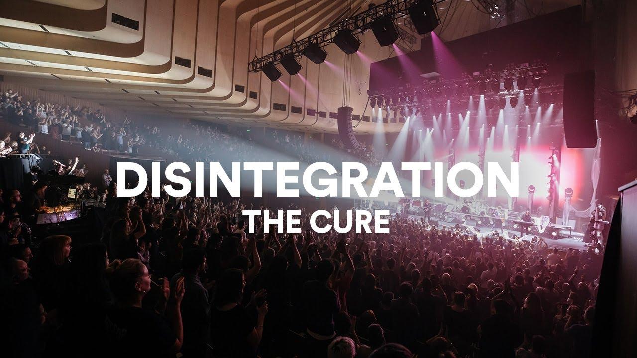 Resultado de imagem para Disintegration live at sydney