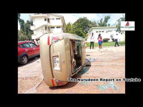 KNUST Chaos; About 35 cars destroyed, several other property vandalized