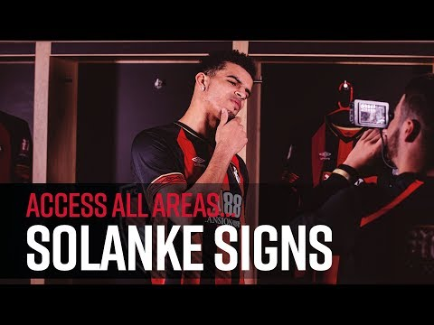 ACCESS ALL AREAS | Solanke signs for AFC Bournemouth