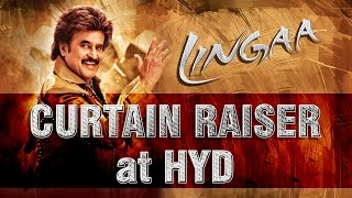Lingaa Curtain Raiser Live at Hyderabad