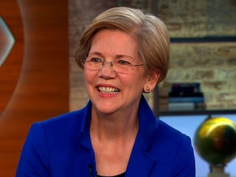 "Sen. Elizabeth Warren: ""Washington is not working for hardworking, middle class families"""