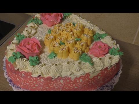 Торт Сердце/нежное песочное тесто и белковое суфле  крем Шарлотт без регистрации и смс