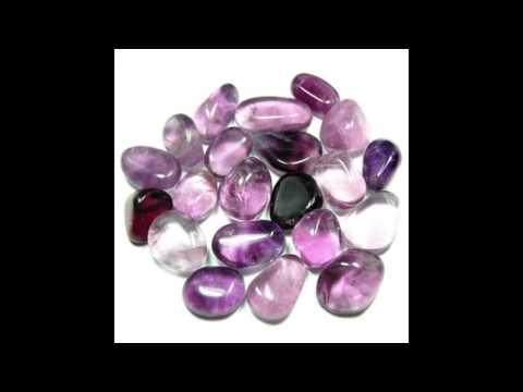 Healing Crystals Purple Fluorite Information Video