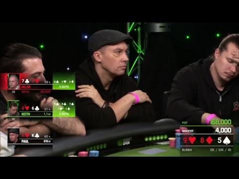 Main Event Day 2 at Unibet Open Dublin 2018 Live Stream