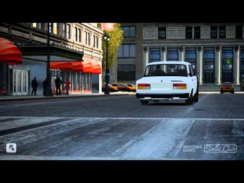 Gta Iv ! Avtosh Style Vaz 21 07 (Part 2) (Rockstar Games)