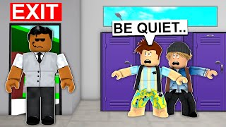 We Had To Escape Brookhaven Detention.. (Roblox)