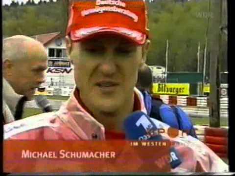 Tv Bericht WM Kartrennen Kerpen 2001 mi9t Michael Schumacher