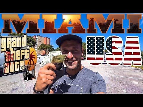 Майами как в GTA 6. Заработал 4000 рублей за 3 часа. Работа в Америке. Майами-Бич. США [2018] #5