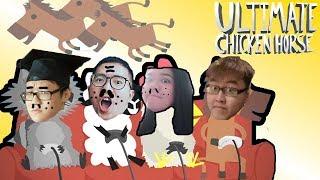 你們這些Sohai - 『Ultimate Chicken Horse 終極雞馬』 搞笑精華