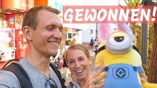 Erster Tag in Tokio und direkt gewonnen!!! Weltreise | VLOG #353