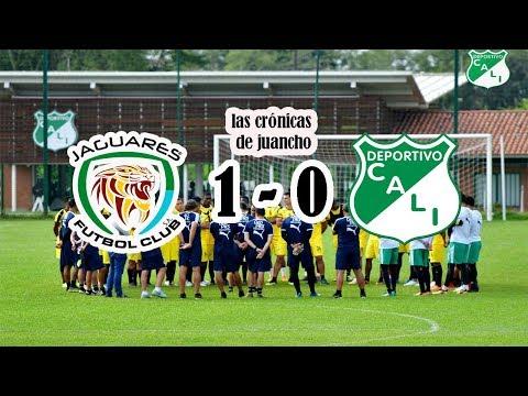JAGUARES 1 - 0 DEPORTIVO CALI |PAUPERRIMO PARTIDO| NI UNA LLEGADA DE GOL