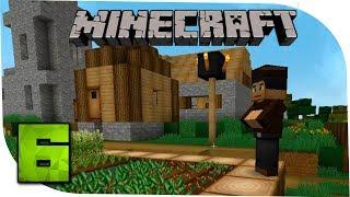 Minecraft С модами 6 Увлекательная прогулка. Поселок фермеров