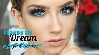 Aquamarine Dream | Bright & Smokey Quickie Tutorial