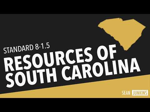 Resources of South Carolina (8-1.5)