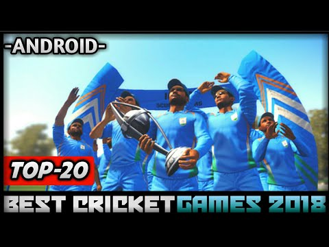 TOP-20 BEST HIGH REALASTIC GRAPHICS CRICKET GAMES OF 2018 FOR ANDROID | BEST CRICKET GAMES 2018