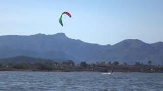 kitesurfing school in Mallorca www edmkpollensa com clases de kite en Abril Sa Marina kite spot