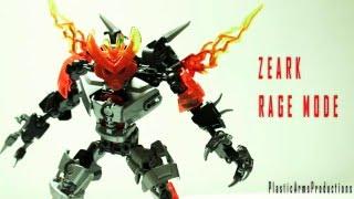 (LEGO) Bionicle/Hero Factory MOC: Zeark Rage Mode
