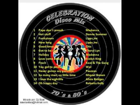 Celebration - Os Melhores Hits da Disco dos Anos 70 & 80