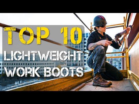Top 10 Best Lightweight Work Boots