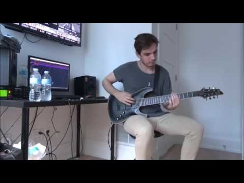I Prevail | Stuck In Your Head | GUITAR  COVER FULL (NEW SONG 2016) HD