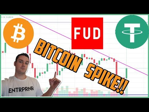 Bitcoin Spikes After Tether FUD! HUGE Price Differences Across Exchanges!