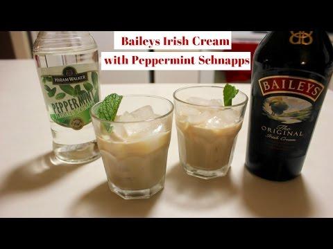 Baileys Irish Cream With Peppermint Schnapps: How to Drink Baileys Irish Cream