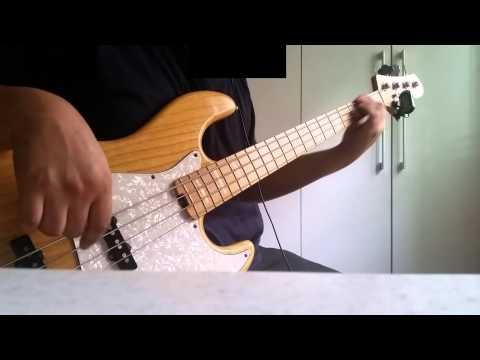 Jason mraz - The remedy(I won't worry) bass cover